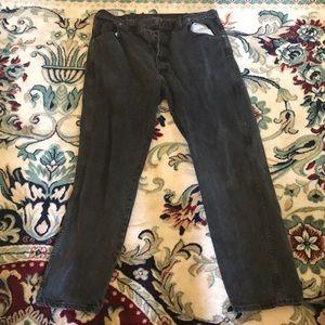 Large Black Wrangler Jeans